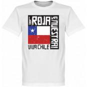Chile T-shirt Le Roja Es Nuestra Vit XS