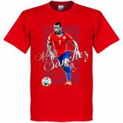 Chile T-shirt Legend Alexis Sanchez Röd XS