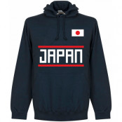 Japan Huvtröja Team Mörkblå S