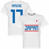 Japan T-shirt Hasebe 17 Team Vit XS