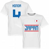 Japan T-shirt Honda 4 Team Keisuke Honda Vit XS