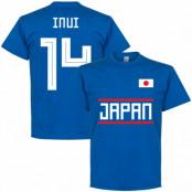 Japan T-shirt Inui 14 Team Blå S