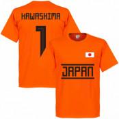 Japan T-shirt Kawashima 1 Team GK Orange XS