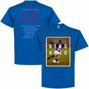 Japan T-shirt King Kazu Blå S