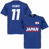 Japan T-shirt Kubo 11 Team Blå S