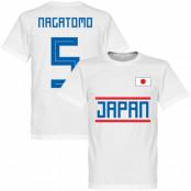 Japan T-shirt Nagatomo 5 Team Vit XS