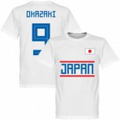 Japan T-shirt Okazaki 9 Team Vit XS