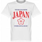 Japan T-shirt Rugby Vit XS