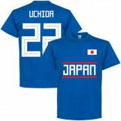Japan T-shirt Uchida 22 Team Blå S
