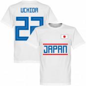 Japan T-shirt Uchida 22 Team Vit XS