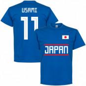 Japan T-shirt Usami 11 Team Blå S