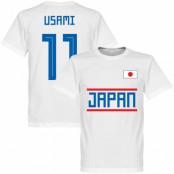 Japan T-shirt Usami 11 Team Vit XS