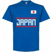 Japan T-shirt Wordmark Blå S