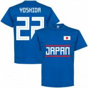 Japan T-shirt Yoshida 22 Team Blå S