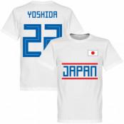 Japan T-shirt Yoshida 22 Team Vit XS