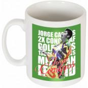 Paraguay Mugg Jorge Campos Legend Vit