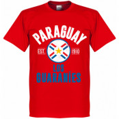 Paraguay T-shirt Established Röd XS