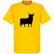 Spanien T-shirt El Toro Gul XS