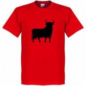 Spanien T-shirt El Toro Röd XS