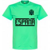 Spanien T-shirt Team Blå S