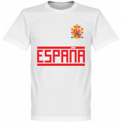 Spanien T-shirt Team Vit XS