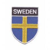 Sverige Broderat märke flagga