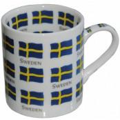 Sverige Mugg Flaggor