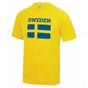 Sverige Sporttröja Flag S