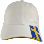 Sverige Keps Vit Micro