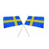 Sverige Handflagga B