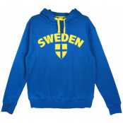 Sverige Huvtröja Sweden Blå XS