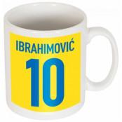 Sverige Mugg Ibrahimovic 10