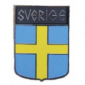 Sverige Pins sköld
