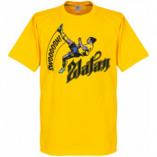 Sverige T-shirt Bicycle Barn Zlatan Ibrahimovic Gul 2 år