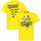 Sverige T-shirt Tour Zlatan Ibrahimovic Gul XS