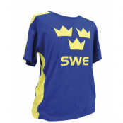 Sverige T-shirt Tre kronor Barn 160 cl