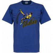 Sverige T-shirt Zlatan Ibrahimovic Blå S