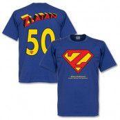 Sverige T-shirt Zlatan Superman XL