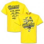 Sverige T-shirt Zlatan Tour S