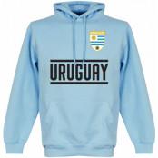 Uruguay Huvtröja Team Ljusblå S