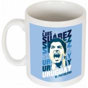 Uruguay Mugg Suarez Portrait Luis Suarez Vit