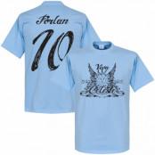 Uruguay T-shirt Diego Forlan  Ljusblå XS