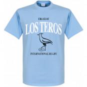 Uruguay T-shirt Rugby Ljusblå XS