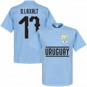Uruguay T-shirt Team DLaxalt 17 Ljusblå XS