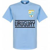 Uruguay T-shirt Team Ljusblå XS