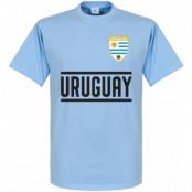 Uruguay T-shirt Wordmark Ljusblå XS