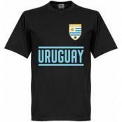 Uruguay T-shirt Wordmark Svart XXL