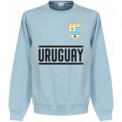 Uruguay Tröja Team Sweatshirt Ljusblå S