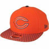Keps Chicago Bears Sideline 9Fifty Orange Snapback - New Era