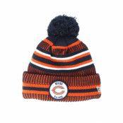 Mössa Chicago Bears On Field 19 Sport Knit 2 Navy/Orange Pom - New Era - Orange Tofs